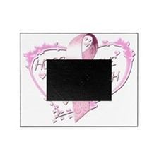 Hope Love Faith Heart (pink) Picture Frame