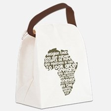 AfricaJames127 Canvas Lunch Bag