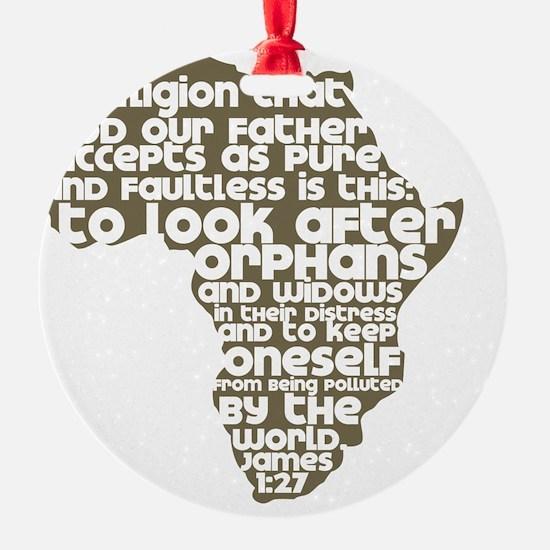 AfricaJames127 Ornament