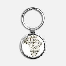 AfricaJames127 Round Keychain