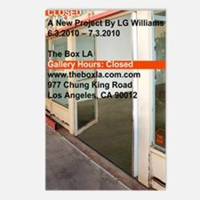 Closed At The Box LA Postcards (Package of 8)