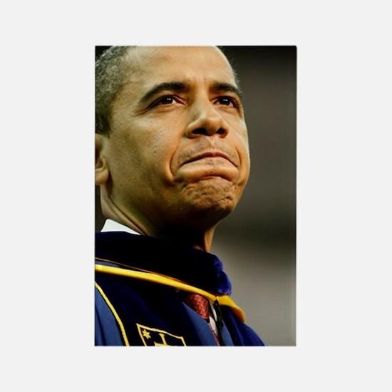 ART Grad Obama Rectangle Magnet