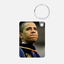 ART Grad Obama Aluminum Photo Keychain