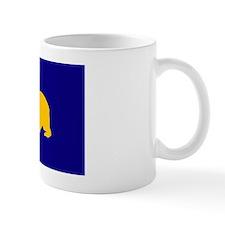 California Bear Blue Yellow Clothes2 Mug