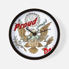 proudarmydad Wall Clock