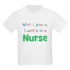 When I Grow Up Nurse Kids T-Shirt