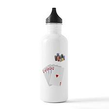 2-boxers-royal Water Bottle