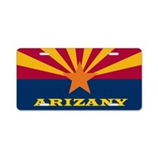 arizany Aluminum License Plate