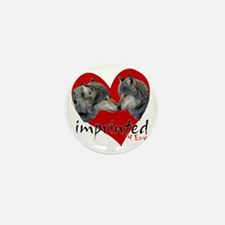 wolf-imprinted Mini Button