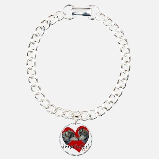wolf-imprinted Charm Bracelet, One Charm