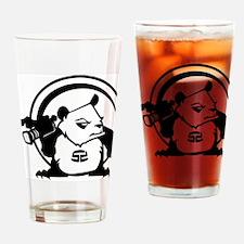 PandaSDCircle Drinking Glass