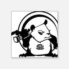 "PandaSDCircle Square Sticker 3"" x 3"""