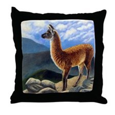 Guanaco Throw Pillow