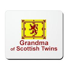 Scottish Twins-Grandma Mousepad