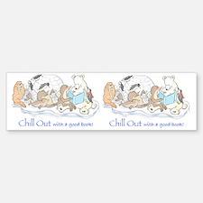 chill out mug Bumper Bumper Sticker