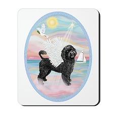 Heavenly Sea-Portuguese Water Dog #8 (2) Mousepad