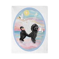 Heavenly Sea-Portuguese Water Dog #8 (2 Twin Duvet