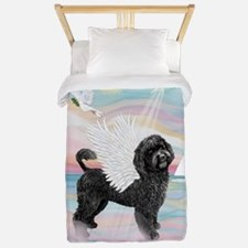 Heavenly Sea-Portuguese Water Dog #8 (2 Twin Duvet