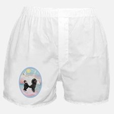 Heavenly Sea-Portuguese Water Dog #8  Boxer Shorts
