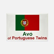 Avo (Grandmother) of Portuguese Twins Rectangle Ma