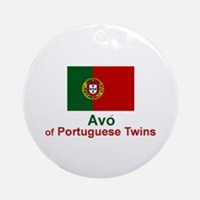 Avo (Grandmother) of Portuguese Twins Ornament (Ro