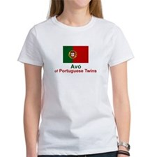 Avo (Grandmother) of Portuguese Twins Tee