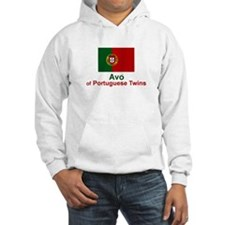 Avo (Grandmother) of Portuguese Twins Hoodie