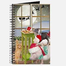 Pot Belly Pig Christmas Fun Time Journal
