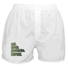 Funny Geocache tupperware Boxer Shorts
