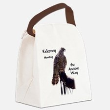 faconry ancient way Canvas Lunch Bag