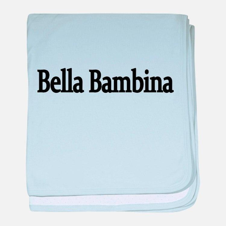 Bella Bambina baby blanket