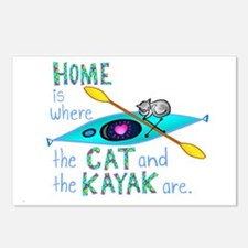 homekayakcat4dark Postcards (Package of 8)