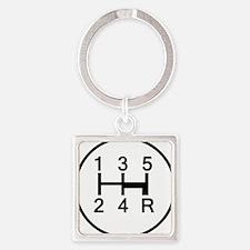 2-Stick It Square Keychain