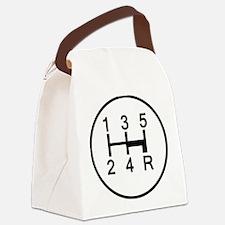 2-Stick It Canvas Lunch Bag
