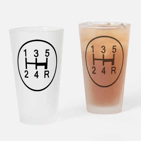 2-Stick It Drinking Glass