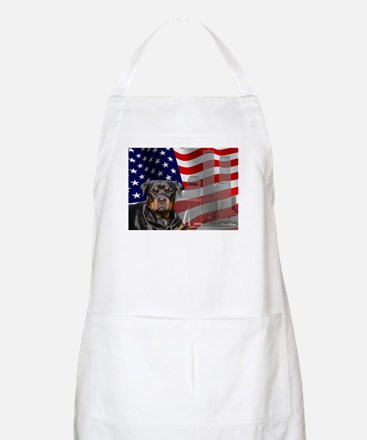 Rotties were there! BBQ Apron