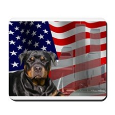 Rotties were there! Mousepad