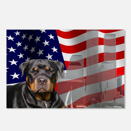 Rotties were there! Postcards (Package of 8)