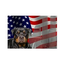 Rotties were there! Rectangle Magnet (10 pack)