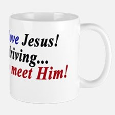 Honk if you love Jesus Mug