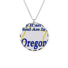 My Heart  Soul Are In Oregon Necklace