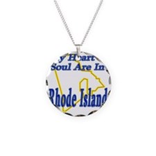 My Heart  Soul Are In Rhode  Necklace