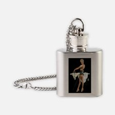 pressing details mini poster Flask Necklace