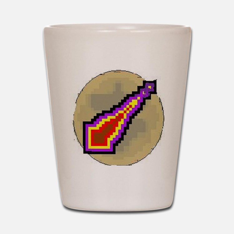 3-protect mage Shot Glass