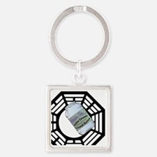 MommaClairesPeanutButter2-button Square Keychain