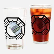 MommaClairesPeanutButter2-button Drinking Glass