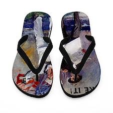 Americana WWI poster _navy_ww1_navy-nee Flip Flops