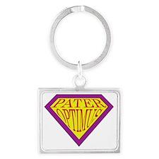 superman-logo-1 Landscape Keychain