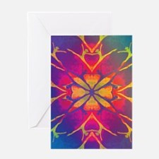 dancer rainbow3 tshirt4 Greeting Card