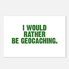 Funny Geocache tupperware Postcards (Package of 8)